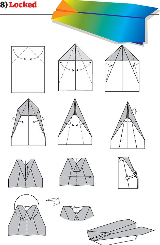 Best Paper Plane Design In The World